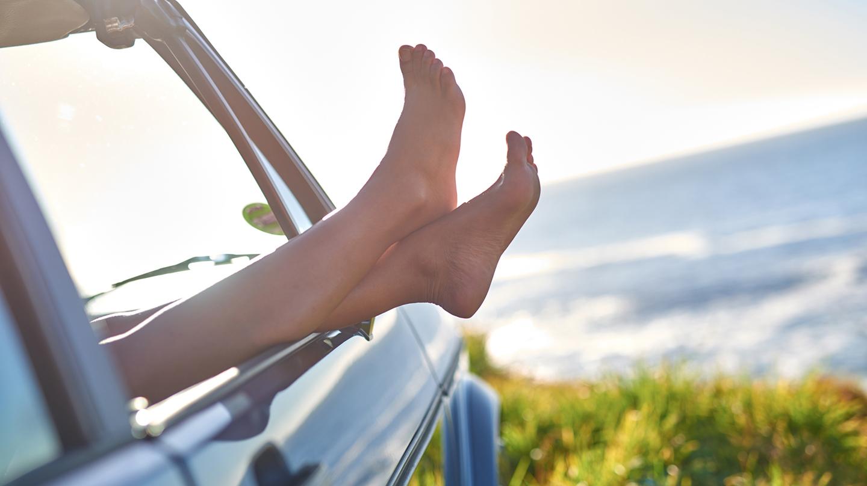 Gut gepflegte Füße bringen ein Wohlgefühl.