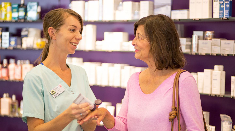 Kosmetik-Pharmazie