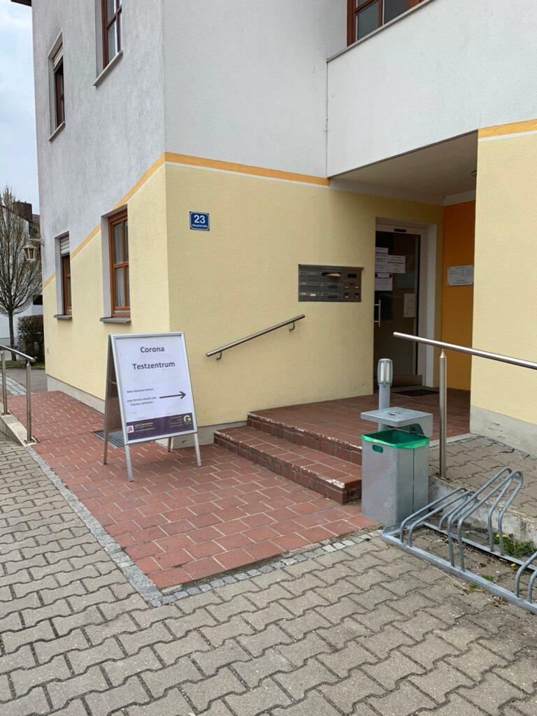 Schnelltests in Testzentren für Bürger - Anmeldung ausschließlich online