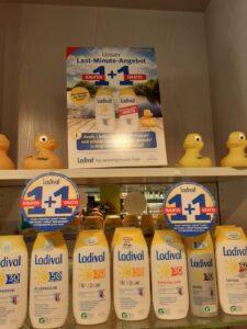 Ladival-Sonnenschutz: 1 kaufen, 1 gratis!